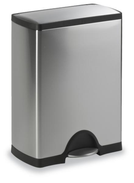 abfall beh lter 50l hxbxt 660x500x330mm edelstahl. Black Bedroom Furniture Sets. Home Design Ideas