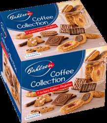 Bahlsen Gebäckmischung Coffee Collection/40990 4x 500 g Coffee Collection