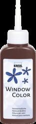 KREUL Window Color/42722 dunkelbraun 80 ml